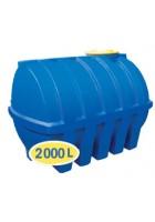 Пластиковая емкость 2000л